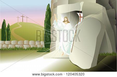 Resurrected Jesus Christ