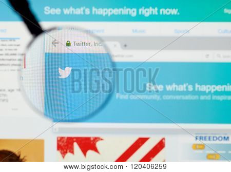 Twitter Web Page