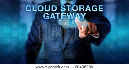 Supplier Touching Cloud Storage Gateway