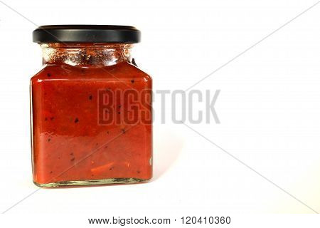 Jar Of Pickle Sauce