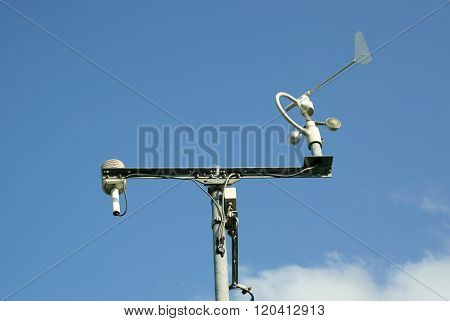 Meteorological Station And Tools.