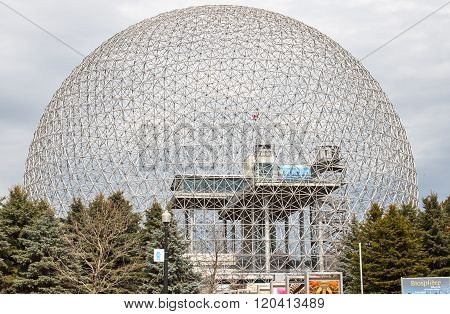 Biosphere Environmental Museum In Montreal.