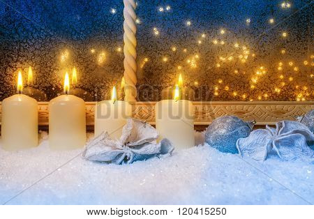 Four Candles At The Window