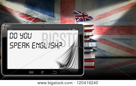 Do You Speak English - Tablet And Books