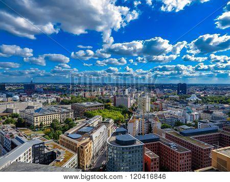 Berlin Cityscape On A Sunny Day