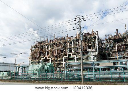Factories in Kawasaki