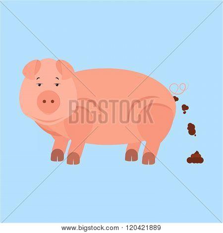 Pig Shitting