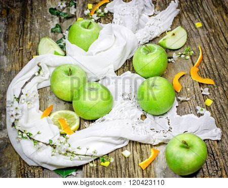 Green apples - Granny Smith apple
