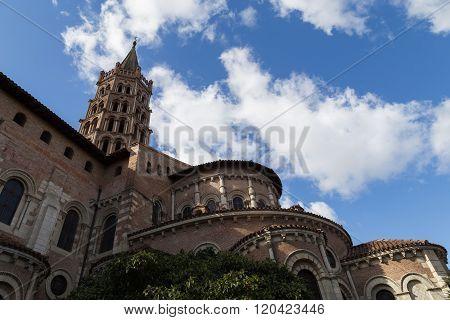 Basilica Saint-sernin In Toulouse, France