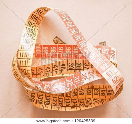 Tape Measure Vintage