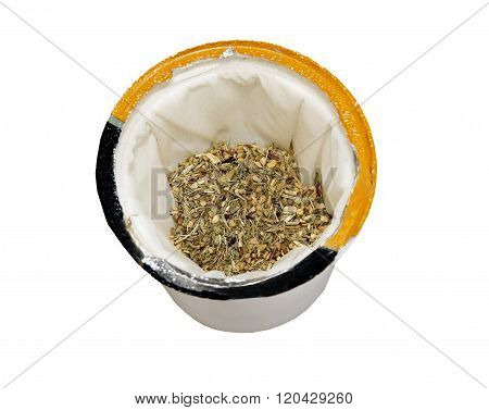 Single serve tea cup with Lemon and Ginger