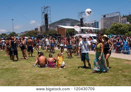 Rio de Janeiro Carnival Block