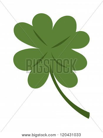 Clover vector illustration icon
