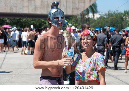 Brazilians in Carnival