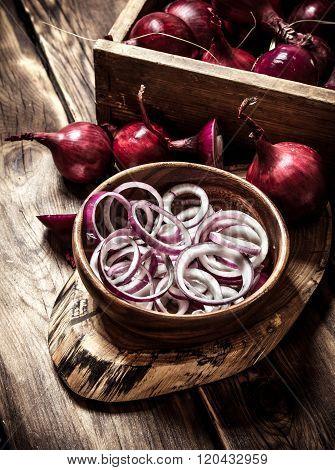 Sliced Onion Rings