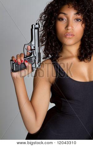 Sexy Gun Woman