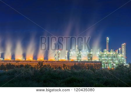 Steam Turbulence Of Cooling Tower.