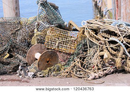 Dock Debris