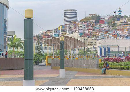 Malecon 2000 Guayaquil Ecuador