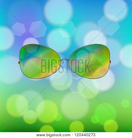 Colorful Sun Glasses