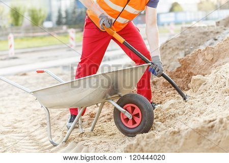 Manual Worker Digging
