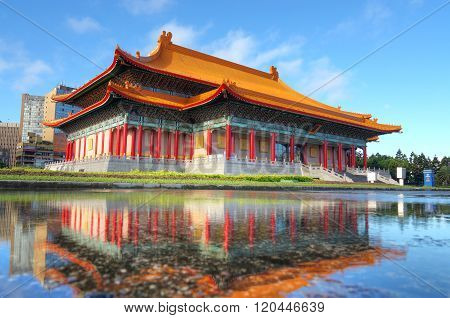 The Famous National Concert Hall Of Taiwan