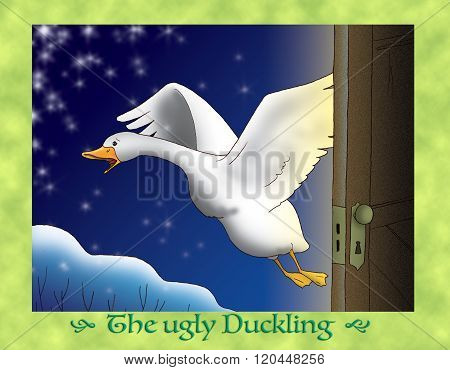 The ugly duckling 19 escaping in winter