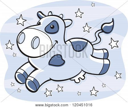 Cow Milky Way