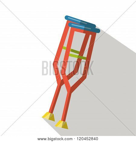 Medical crutch. Medical crutches. Medical crutches vector. Medical crutches icon. Medical crutches icons. Medical crutches flat. Medical crutches isolated. Medical crutches man. Medical crutches woman