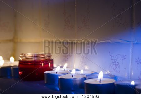 Jar And Candles