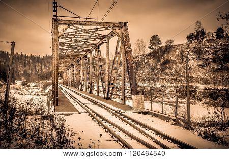 Steel Railway Flyover