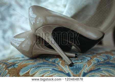 Women's Beige Shoes