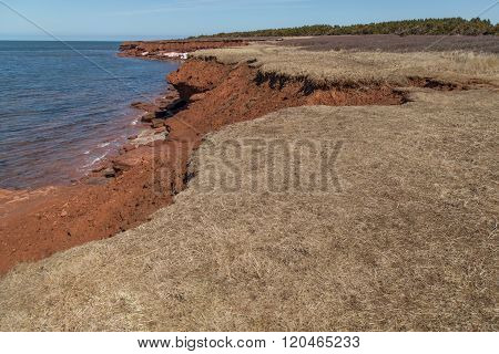 Cliffs At Cavendish Beach Pei