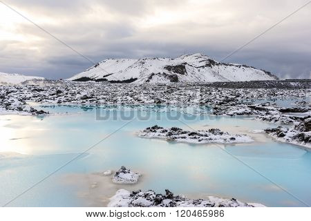 Geothermal Power Discharge Ponds