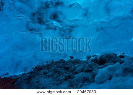 Ice Cave In The Vatnajokull Glacier Icelandan