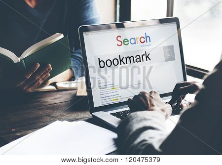Bookmark Content Memory Favorite Internet Online Concept