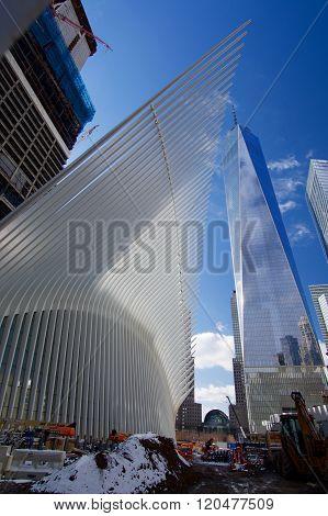 OCULUS, The World Trade Center Transportation Hub