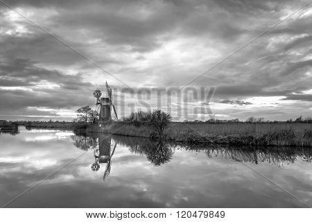 Turf Fen Mill Reflections