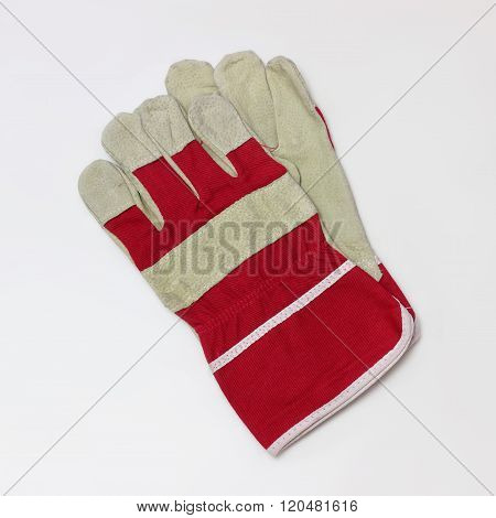 Working Gloves. Isolated