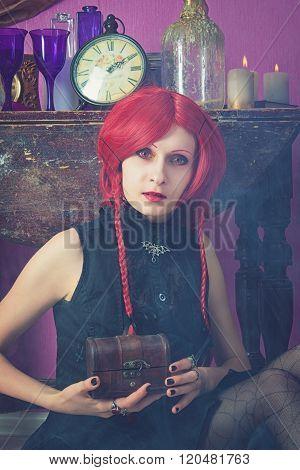 Redhead Alice In Wonderland