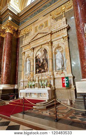 Patrona Hungariae Altar