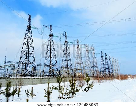 Electric substations in lifes of the person