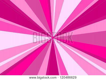 Rays Radius Background Center Pink