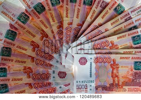 Russian Five-thousandth Banknotes