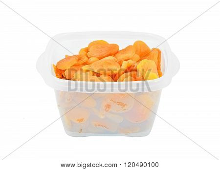 Dried Apricots In Box