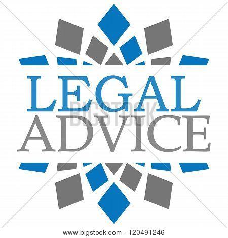 Legal Advice Blue Grey Elements Square