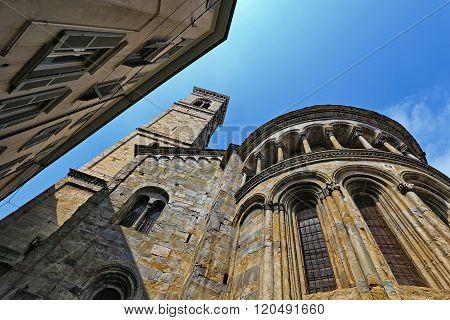 Basilica di Santa Maria Maggiore in Upper City of Bergamo
