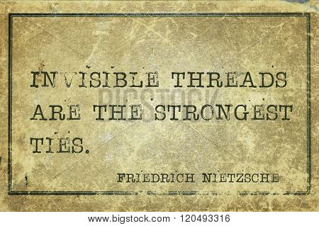Strong Ties Nietzsche
