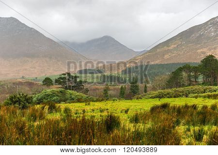 Picturesque Landscape In Connemara