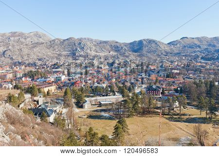 View Of Cetinje City, Montenegro